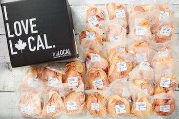 Raised Without Antibiotic Bone-in Chicken Breasts, $8.89/lb